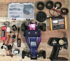 Vintage Kyosho Turbo Ultima w/ Full Kit of Accessories