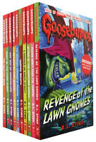 The Classic Goosebumps Series R L STINE 10 Books Set Collection Children Pack