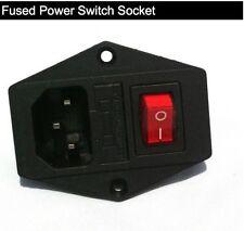 Fused Power Switch Socket, suit arcade machine cabinet, MAME, jamma,