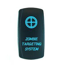 Universal Laser Rocker Switch 12v Led Zombie Targeting Blue