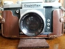 Vintage Praktiflex FX 35mm Camera Meyer Primoplan 58mm 1.9 M42 Lens & Case