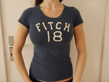 Abercrombie & Fitch T-Shirt Damen Shirt Top blau L Luxus Designer New York XS