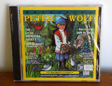 Peter and The Wolf CD A Zoo Called Earth Gerald McBoing Boing  3 Classics! NEW!