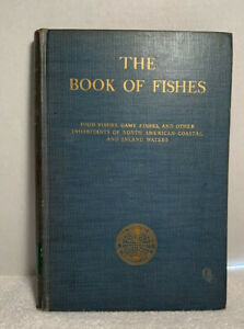 "NICE COPY 1939 ""THE BOOK OF FISHES"" National Geographic Society"