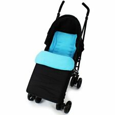 Footmuff Buddy Jet For Baby Jogger City Mini Double Stroller (Black)