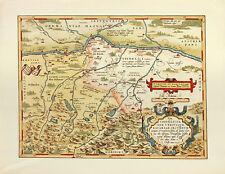 Abraham Ortelius Tipus Vindeliciae Sive Utriusque Bavariae Secundum Poster Bild