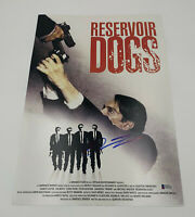 QUENTIN TARANTINO SIGNED AUTO RESERVOIR DOGS 12X18 PHOTO POSTER BECKETT COA 4