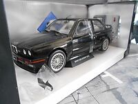 BMW M3 E30 Evo Sport Evolution 1990 black schwarz Solido Metall NEU 1:18