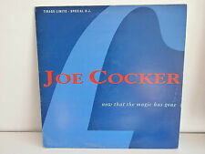 "MAXI 12"" JOE COCKER Now that the magic has gone SP1627 PROMO"