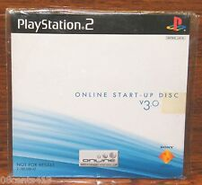 Online Start Up Disc v 3.0 (PlayStation 2 PS2) Network Adapter Start Up! **NEW**