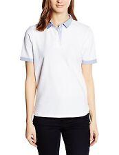 Armani Jeans women's white polo shirt size S