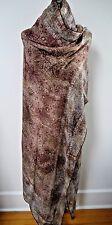 NEW LORO PIANA $1,625 paisley print cashmere silk large scarf shawl wrap