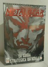 Metal Gear Solid Ps1 Playstation Guida Strategica Nuova New ITA Italiana Konami