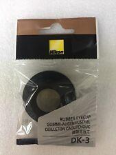 Original Nuevo Nikon DK-3 Ocular de goma para FA FE FM FE2 FM2 FM3A