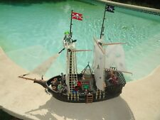 LE  BATEAU PIRATE FANTOME PLAYMOBIL PIECE UNIQUE