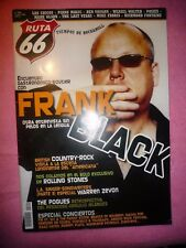 MAGAZINE RUTA 66 Nº 242  ROLLING STONES FRANK BLACK WARREN ZEVON THE POGUES R