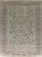 BLACK FRIDAY Floral Hand-Knotted Oriental Area Rug Traditional Wool Carpet 9x12
