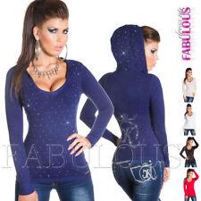 Hooded Wool Unbranded Regular Jumpers & Cardigans for Women