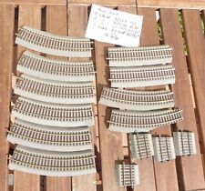 Roco 42522,42530, 42509,42508 in Set 14 x Line Tracks and Pieces M.EMBEDMENT