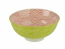 BIA SET OF FOUR TAIPEI RICE / DIPPING BOWLS - RED GREEN YELLOW 12cm