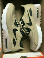 Nike Air Max 90 Ultra PRM (859522-100) Oatmeal Black White Women's Shoes 6.5