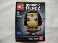 Lego 41599 Brickheadz Wonder Woman Justice League. New In Factory Sealed Box.