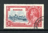 Bahamas 1935 1 1/2d Silver Jubilee dot by flagstaff variety FU CDS
