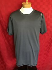 New Grey Reebok Gym Exercise Work Out Dry Fit Shirt Size Xl