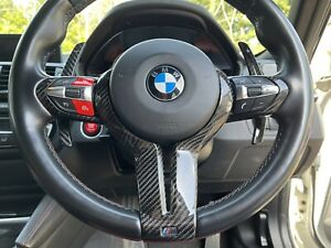 BMW Carbon Fiber Steering Wheel Shift Gear Paddles F30 F31 F32 F33 3 4 Series