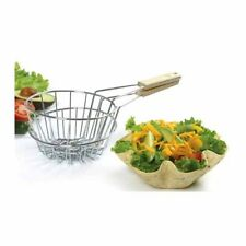 """Norpro Tortilla Basket Fryer. Inside Basket: 6.25""""; Outside Basket 6.5"""""""