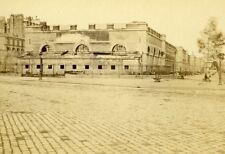 France Paris Granary Second Empire Old CDV Photo 1865
