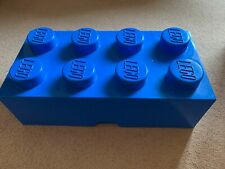 Stackable Blue Giant Lego Storage Brick Block (4x2)