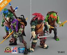 "4Pcs Teenage Mutant Ninja Turtles Movie 5"" Action Figures Collection Toys TG017"
