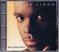Music CD Reggae Kashief Lindo What Kinda World Smooth Sealed Album