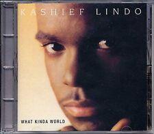 Music CD Lovers Rock Kashief Lindo What Kinda World Smooth Reggae VP Sealed