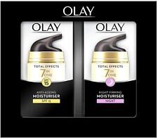 Olay - Total Effect - Anti Ageing Moisturiser SPF 15 / Night Firming Moisturiser
