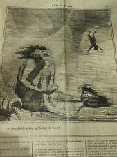 HD 3412 DAUMIER 1870 Que devil what is qu'they front là top
