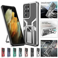 For Samsung S20 S21 S30 Ultra Plus Shockproof Hybrid Armor Kickstand Case Cover