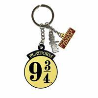 Harry Potter Platform 9 3/4 Metal Charm Keyring Keychain - Stocking Filler