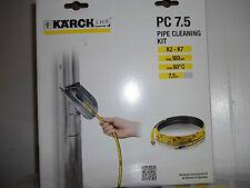 Karcher 7.5m tuyau et vidange kit de nettoyage-nettoyeur haute pression accessoire...