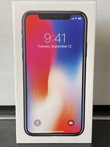 Apple iPhone X Space Grey 10 64GB with Original Box