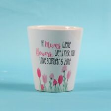 mum Flower Pot ~ Personalised flower Pot ~ Thank you gift ~ Mothers day gift