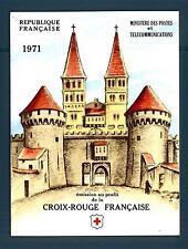 FRANCE - FRANCIA - Libretto - 1971 - Pro Croce Rossa. Quadri di J. B. Greuze