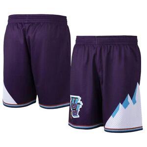 Utah Jazz Mitchell & Ness NBA Authentic Swingman Men's Mesh Shorts Purple 1996