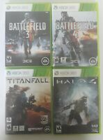 Battlefield 3,4, Titanfall, HALO 4, Xbox 360, Games Lot