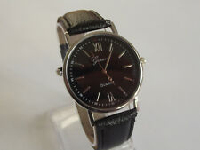 Hot Men's Quartz Analog Business Wrist Watch Perfect Gift + Extra Battery 6T5M