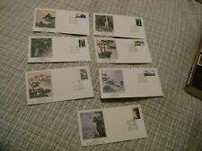 China (PRC-1981) Scott # 1696-1702-FDC Complete Set-CACHETED-Fleetwood