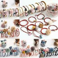 10Pcs Women Girls Hair Band Ring Ties Elastic Rope Hairband Ponytail Holder