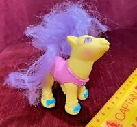 VINTAGE MY LITTLE PONY MLP BABY TOEDANCER BALLERINA G1 HASBRO FIGURE 1990 VGC!