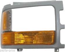 New Replacement Paintable Headlight Bezel RH / FOR 1991-96 DODGE DAKOTA